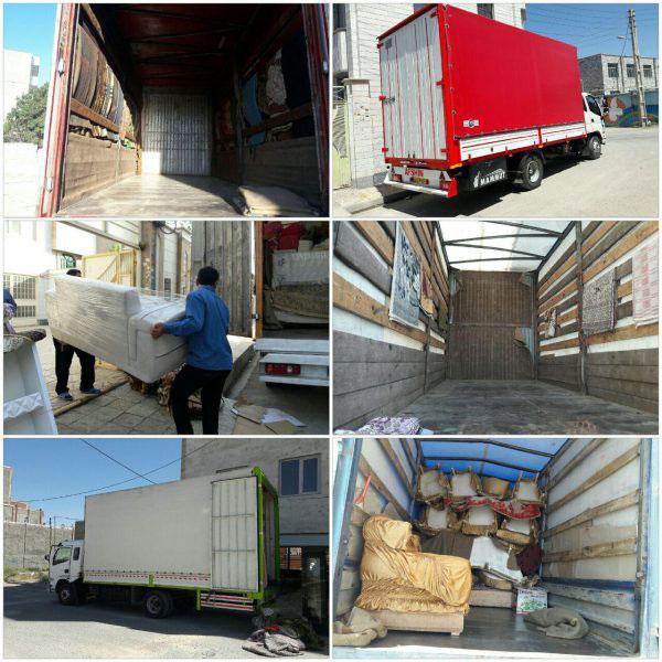 قیمت حمل اثاثیه منزل در اصفهان